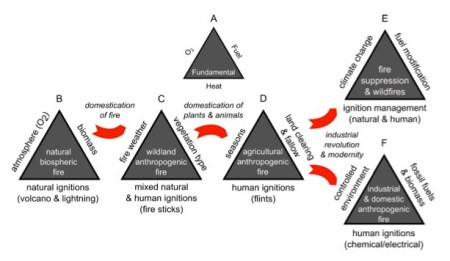 Figure 3 from Bowman et al. 2011 The human dimension of fire regimes on Earth. Journal of Biogeography 38:2223-2236.