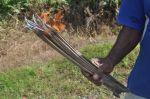 Close up of fire stick