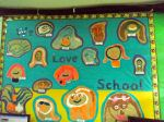 ISS classroom mural