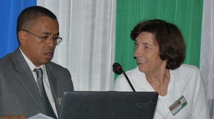 Hervé with long-time collaborator Chantal Blanc-Pamard at the ESSA-IRD colloquium Géopolitique et Environnement in 2010, University of Antananarivo